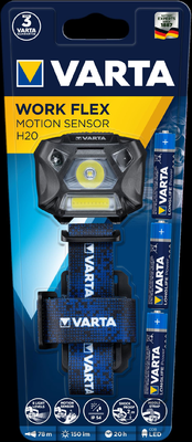 Svít.Varta Work Flex Motion Sensor H20