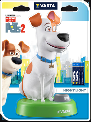 Svít.Varta Secret Life of Pets Night Light